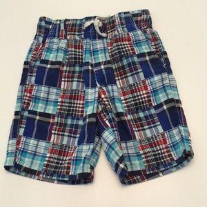 GYMBOREE Plaid Shorts Size 7